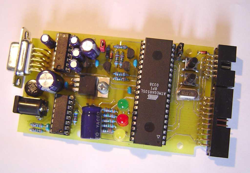 PCB top