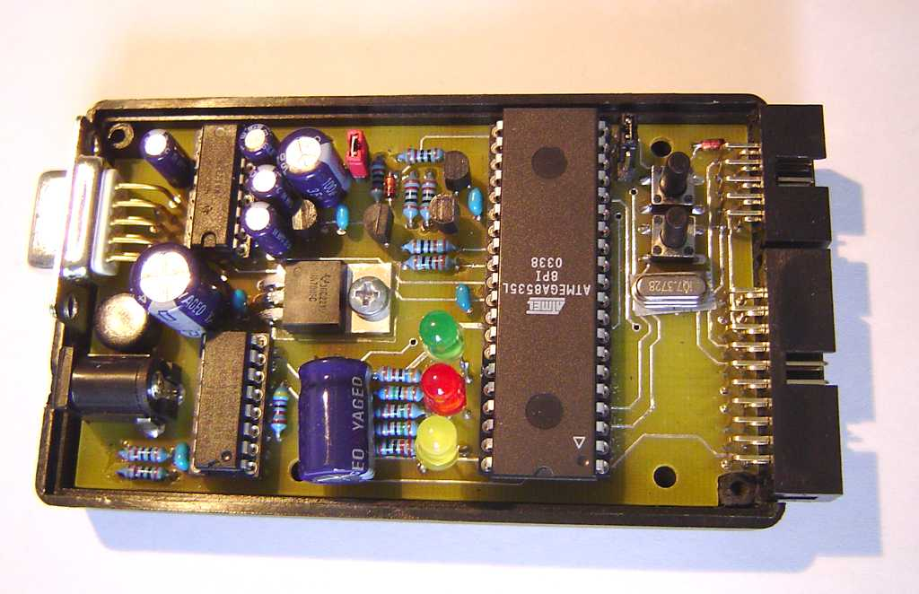 Case and PCB